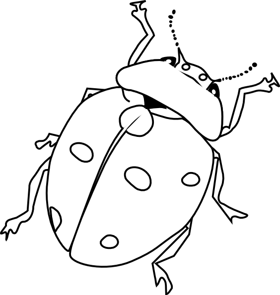 bug coloring pages ladybug - photo#29