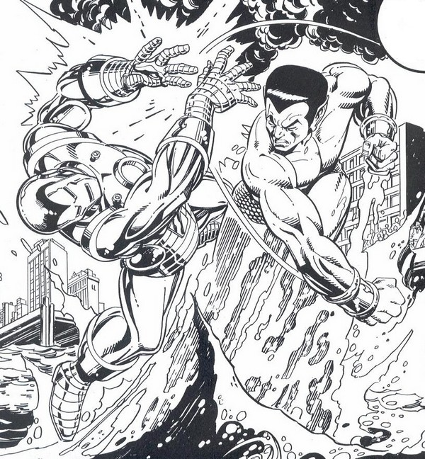 Iron Man Coloring Pages 7
