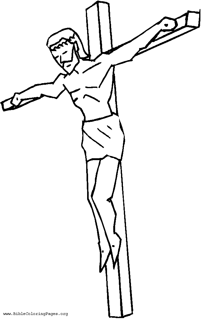 jesus coloring pages 6