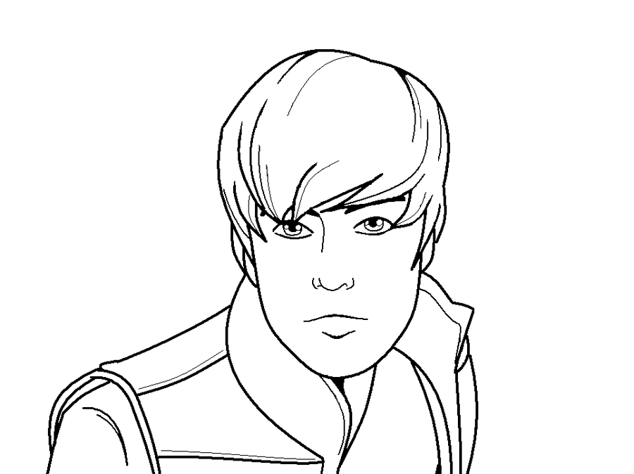 justin bieber pictures to print and color. Justin Bieber Coloring Pages