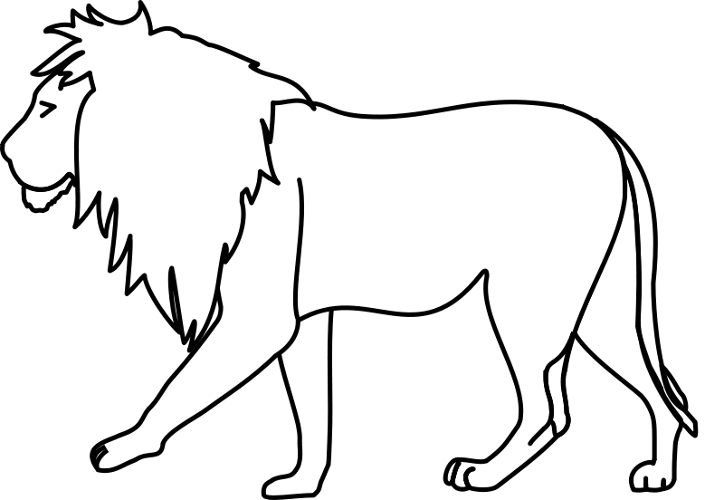 Lion Coloring Pages 2 | Coloring Pages To Print