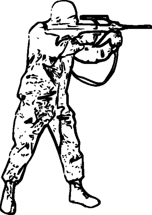 Army Sniper Coloring Coloring Pages
