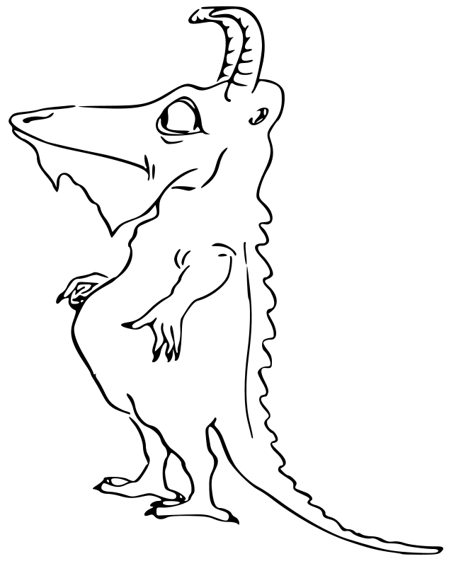 monster coloring pages 2 coloring pages to print