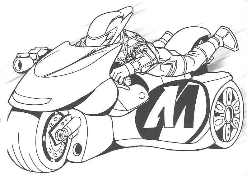 bike coloring pages - photo #40