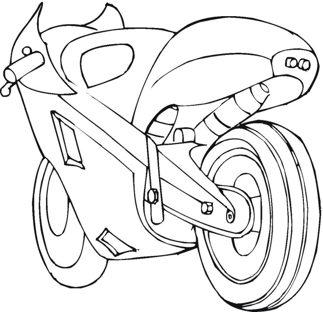 Motorcycle Coloring Pages Coloring Pages To Print Motorbike Coloring Pages