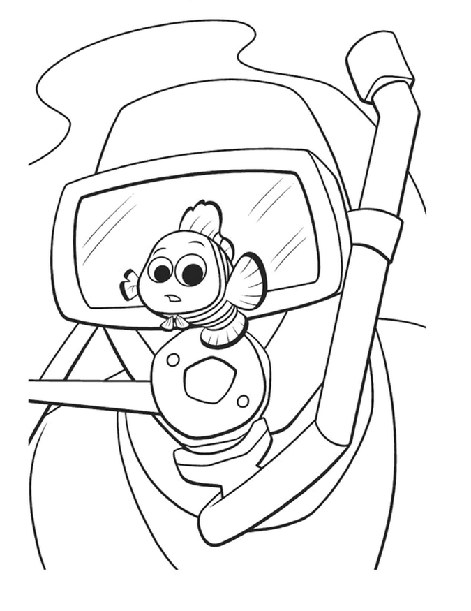 nemo coloring pages - photo#33