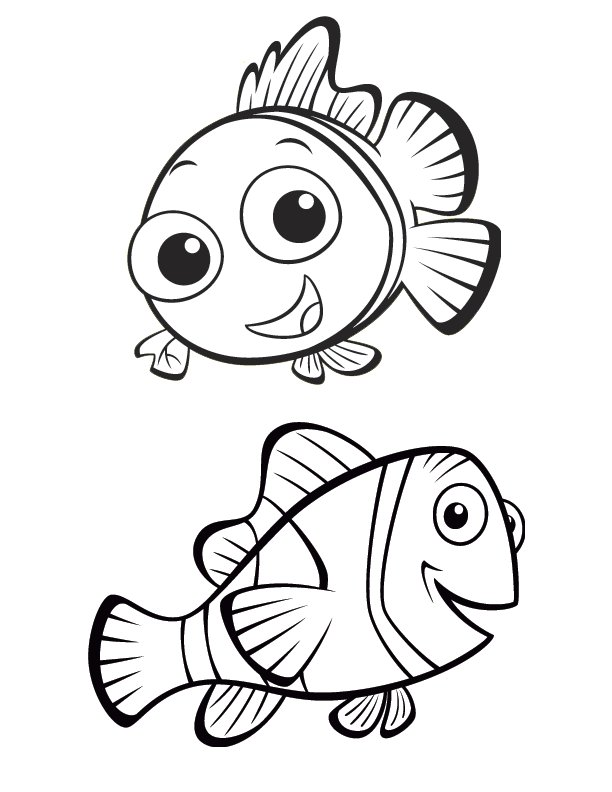nemo coloring pages - photo#3