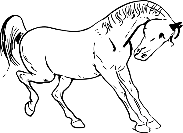 pony coloring pages 2 - Pony Coloring Pages