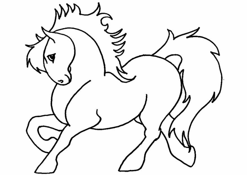 Pony Coloring Pages 3 | Coloring Pages To Print