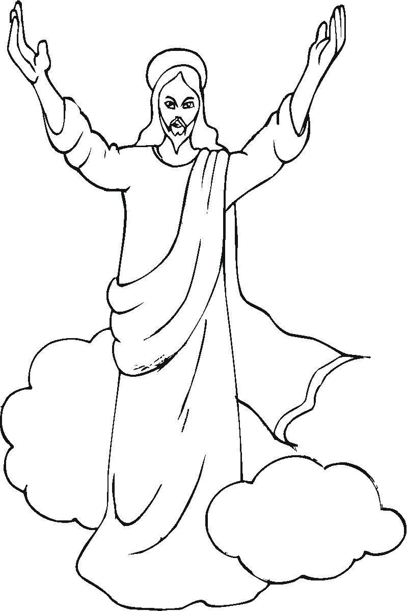christian coloring pages to print-#25