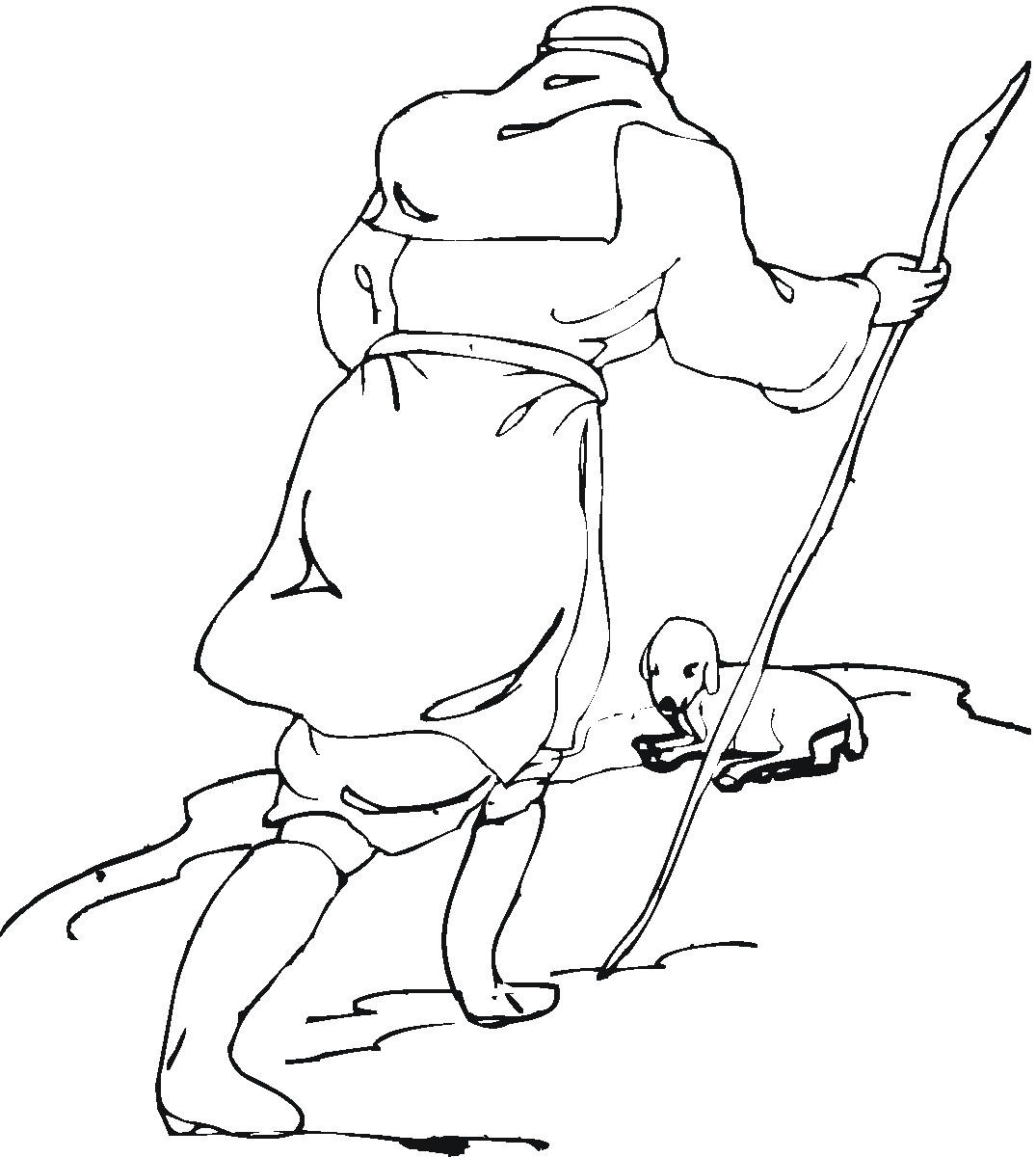 christian coloring pages lamb - photo#12