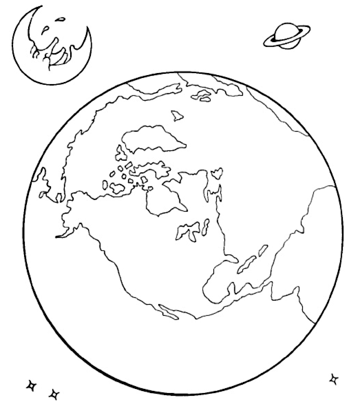 Solar System Coloring Pages 2 | Coloring Pages To Print