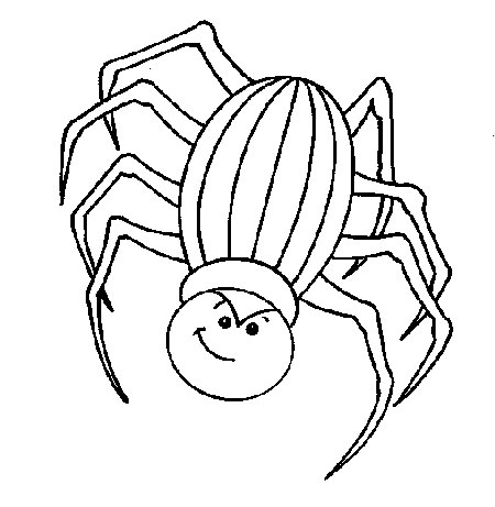 Spider Coloring Pages Coloring Pages To Print Coloring Page Spider