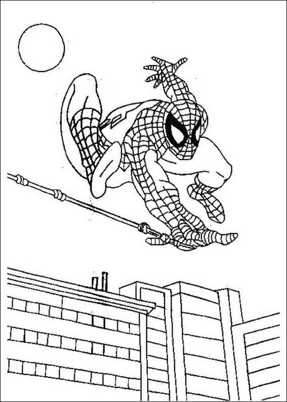 Spiderman Coloring Pages 2