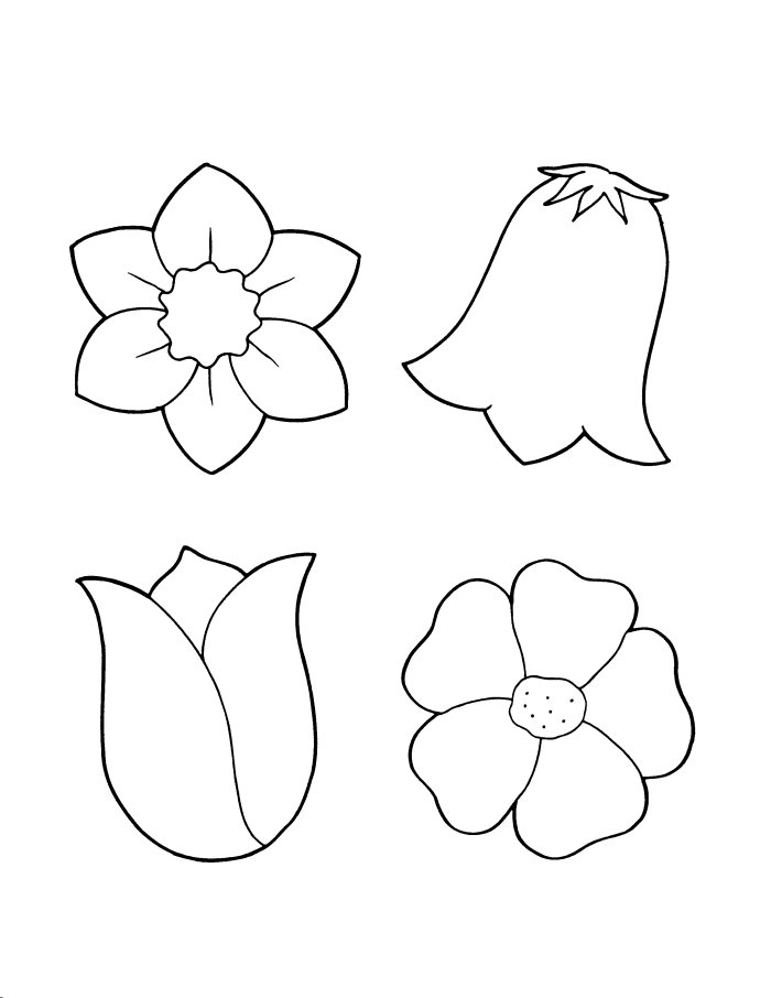 printable coloring pages for sping - photo#35