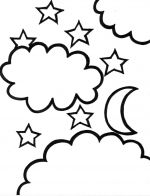 star night coloring pages