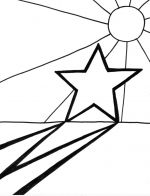 sun star coloring pages