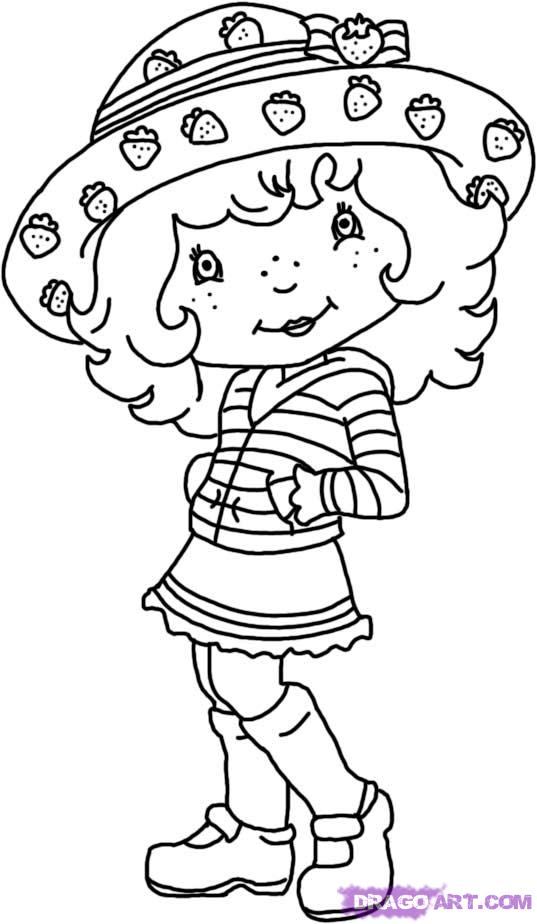 Strawberry Coloring Pages 2 | Coloring Pages To Print