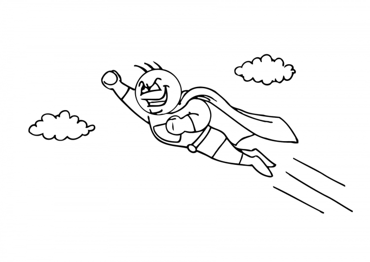 superhero coloring pages | coloring pages to print - Superhero Coloring Pages Boys