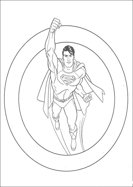 Superman Coloring Pages Coloring Pages To Print