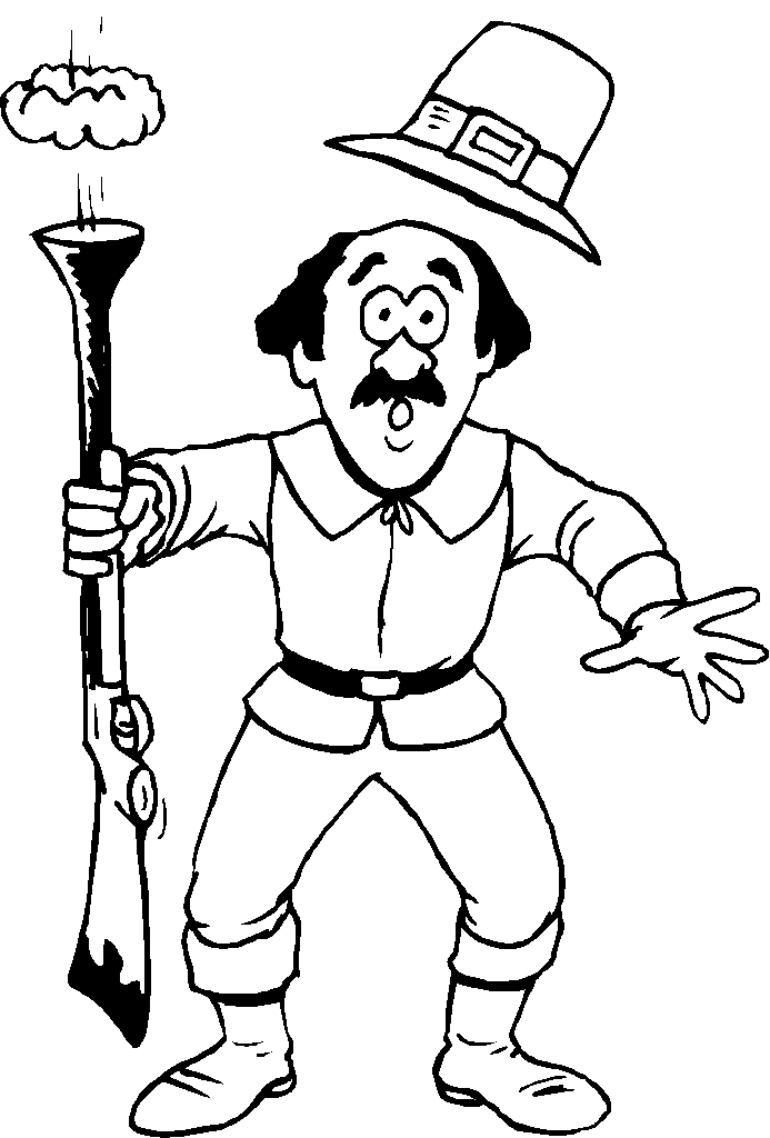 pilgram coloring pages - photo#23