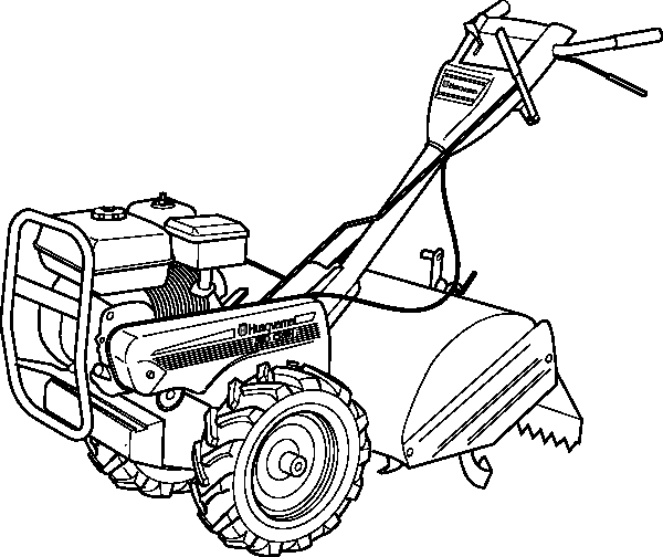 tractor coloring pages 3 - Tractor Coloring Pages