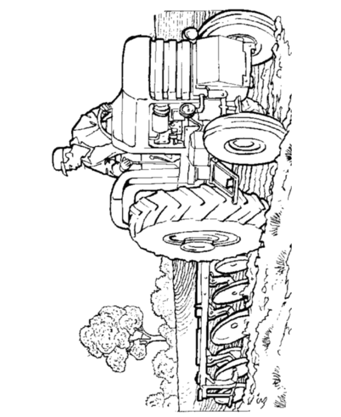 Tractor Coloring Pages 3 | Coloring Pages To Print
