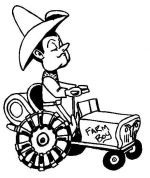 tractor coloring pages 4