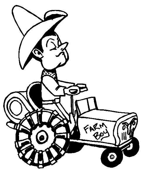Tractor Coloring Pages | Coloring Pages To Print