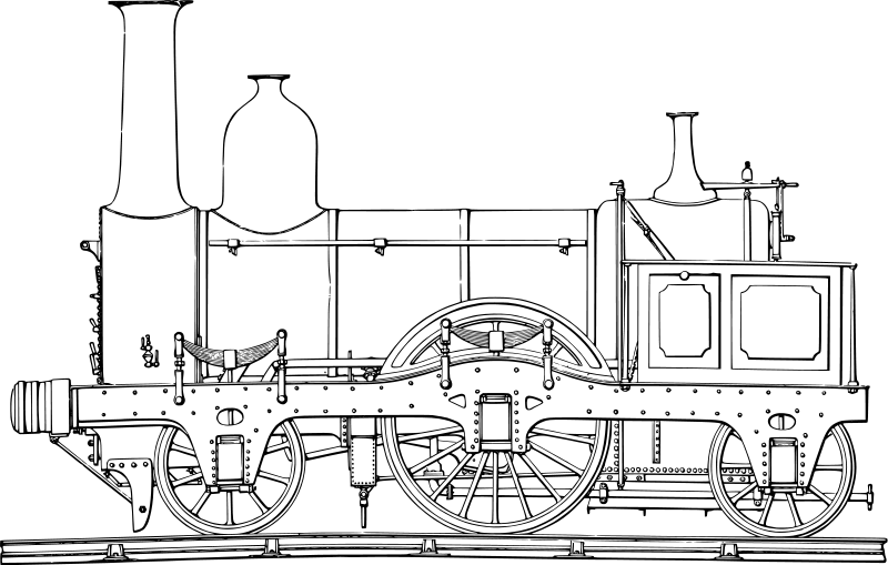 printable coloring pages of trains - photo#23