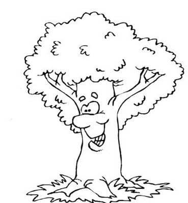 Tree Coloring Pages 2 Coloring Pages To Print Colouring Pages Tree 2