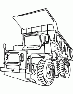 truck coloring pages 7
