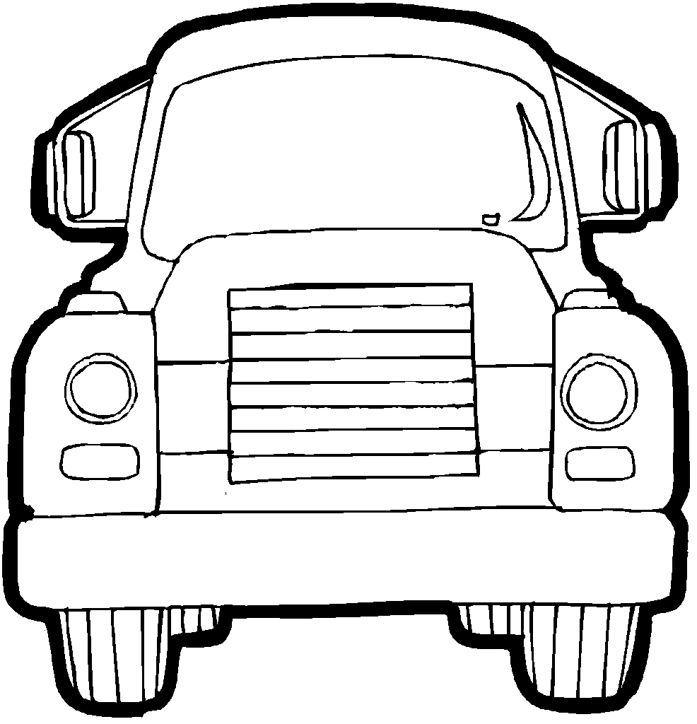 truck coloring pages - photo#20