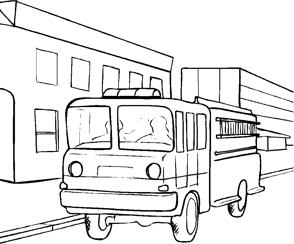 truck coloring pages - photo#30