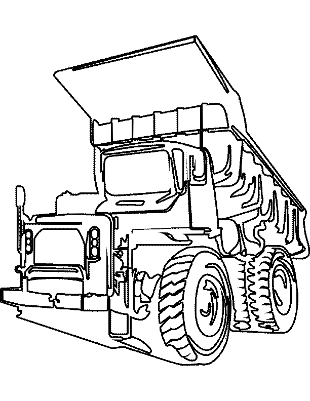 Truck Coloring Pages Coloring Pages To Print Truck Colouring Pages
