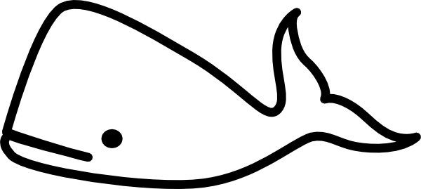 Whale Coloring Pages 2