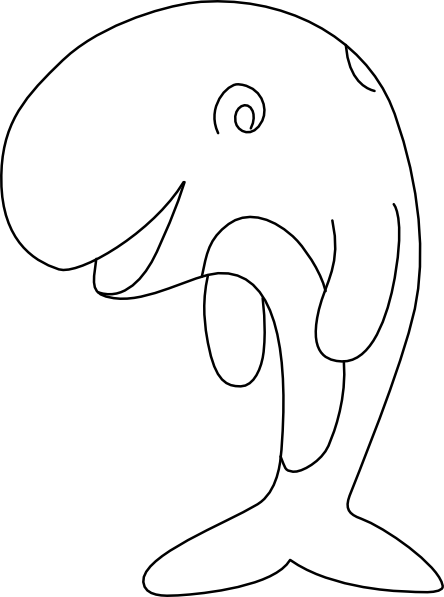 whale coloring pages 3.