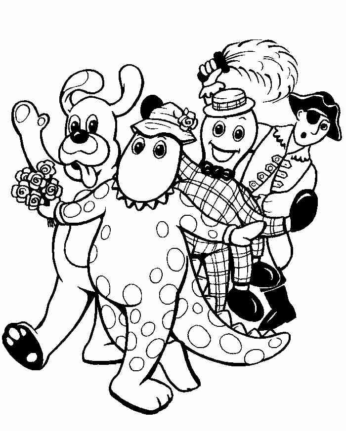Wiggles Coloring Pages Coloring Pages To Print The Wiggles Colouring Pages