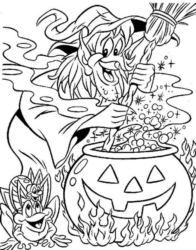 Witch Coloring Pages | Coloring Pages To Print