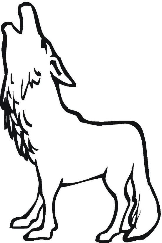 wolves coloring pages - photo#22