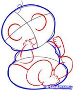 how to draw a baby 8