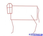 how to draw a cow 6