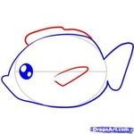 how to draw a fish 5