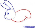 how to draw a rabbit 5