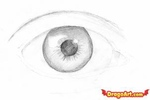 how to draw eyes 3