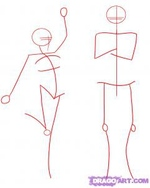 how to draw people 1