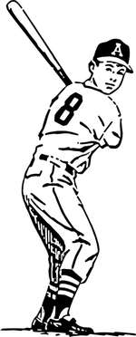 baseball coloring pages 5