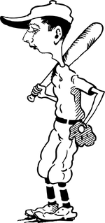 baseball coloring pages 7