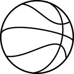 basketball coloring pages 2