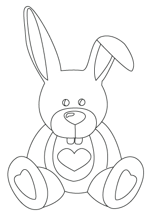 bunny coloring pages 2  coloring pages to print
